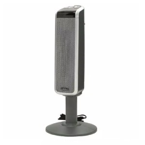 Lasko Pedestal Tower - Best Space Heater for Basement: Heater with digital remote control