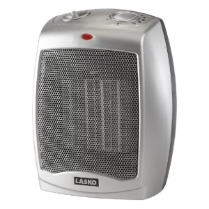 Lasko Electric Fan Compact Heater  - Best Space Heater Cheap: Heater with three quiet settings