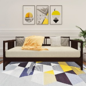 Latitude Run® Alino Daybed - Best Full-Size Daybeds: Three-Side Rail Design Daybed