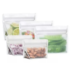 (re)zip Leak-Proof Storage Starter Kit - Best Leftover Food Storage Containers: Sturdier with strong seal
