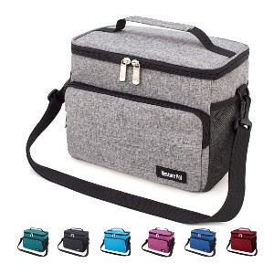 Venture Pal Leakproof Reusable  - Best Lunch Box with Ice Pack: Large Capacity and Multi Compartments