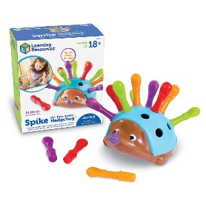 Learning Resources Spike the Fine Motor Hedgehog - Best Educational Toys for 1-2 Year Olds: Best budget-friendly pick