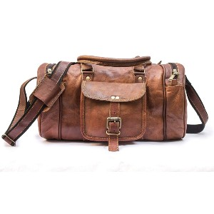 Leather Jackson Leather Bag - Best Leather Duffel Bags: Classy Leather Duffel Bag