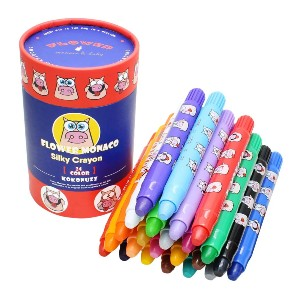 Lebze Washable Jumbo Crayons for Toddlers - Best Bath Crayons: Vibrant Colors Crayon