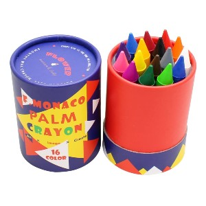 Lebze Jumbo Crayons for Toddlers - Best Crayons for Toddlers: Unique Crayon Shape