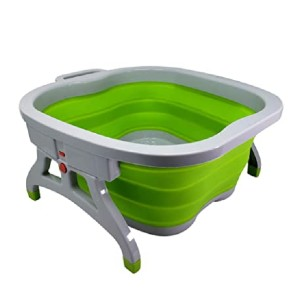 LeeBeauty Professional Large Foot Soaking Tub - Best Foot Spa for Home: Best collapsible pick