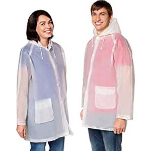 Leger Sport Durable EVA The Best Rain Poncho - Best Raincoats for Cycling: Breathable and translucent
