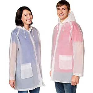 Leger Sport Rain Poncho Jacket (1 2 6 10 Pack) - Best Raincoats for Disney: Breathable and keeps you dry