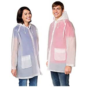 Leger Sport Rain Poncho Jacket  - Best Raincoats for Disney: Breathable and keeps you dry