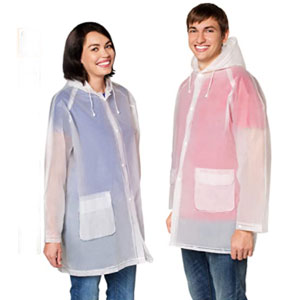 Leger Sport Rain Poncho Jacket - Best Raincoats for Festivals: Anti-Odor with Ventilation Raincoat