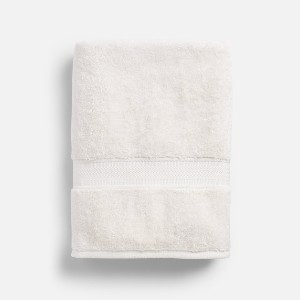 Red Land Cotton Leighton Bath Towel - Best Bath Towels Quick Dry: Heirloom Inspired Towel
