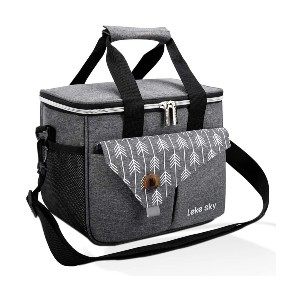 Lekesky Insulated Lunch Bag - Best Lunch Boxes Insulated: Large Lunch Bag