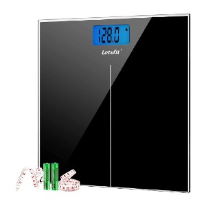 Letsfit Digital Body Weight Scale - Best Weight Scale to Buy: Ultra-slim design