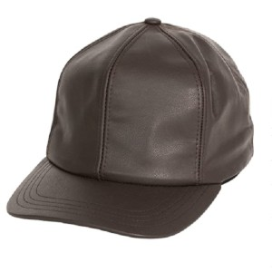 Levine Hats Men's Genuine Cowhide Leather Fitted Closed Back Baseball Cap - Best Baseball Caps for Men: Cap with Sweat-Wicking Cotton Headband