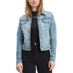 Levi's Womens Trucker Jackets Original Denim Jacket - Best Jacket for Summer: Denim jacket for woman