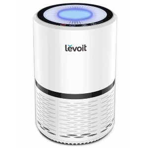 LEVOIT Compact True Air Purifier with HEPA Filter - Best Air Purifier for Pets: Compact Air Purifier