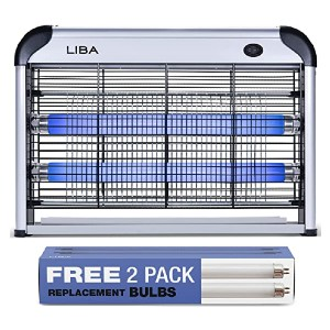 LiBa Zapper Electric - Best Bug Zapper for Patio: Safe for tiny fingers