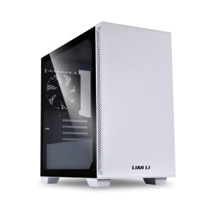LIAN LI microATX Mid-Tower - Best PC Cases Under 100: High Air Performance with Magnetic Dust Filter