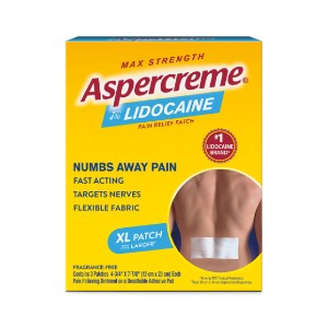Aspercreme Lidocaine - Best Lidocaine Patches: Provide Temporary Relief of Minor Pain