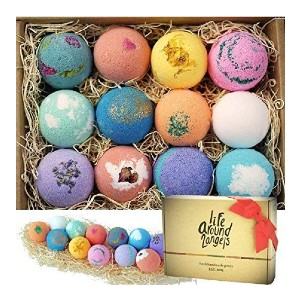 LifeAround2Angels Bath Bombs Gift Set  - Best Bath Bombs on Amazon: Truly Made in California