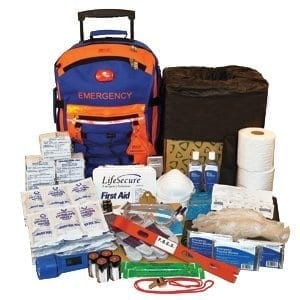 LifeSecure 31850 - Best Emergency Preparedness Kits: A Portable Rolling Emergency Support Kit