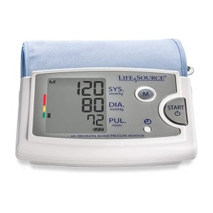 Life Source Upper Arm Blood Pressure Monitor (UA-789AC)  - Best Blood Pressure Monitors to Buy: Best for large arms