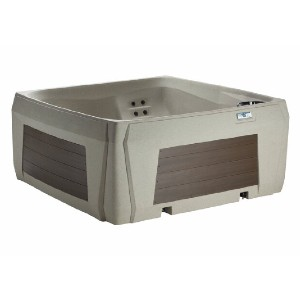 Lifesmart Spas Tierra 5-Person 60-Jet Hot Tub with Ozonator - Best Four-Person Hot Tubs: Hot Tub with Built-in Waterfall