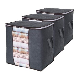 Lifewit Clothes Storage Bag 90L Large Capacity Organizer  - Best Storage Containers for Moving: Best for bulky bedding
