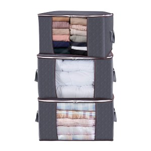 Lifewit Large Capacity Clothes Storage Bag  - Best Storage Containers for Clothes: Big capacity for big laundry