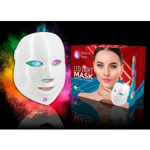 Lift Care Rejuven Mask Pro 7 Color Light Therapy  - Best Light Therapy Mask for Acne: All-In-One Solution Light Mask
