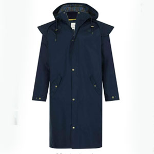 LightHouse Stockman Full Length Rain Coat - Best Raincoats for Cold Weather: Stylish Country Coat