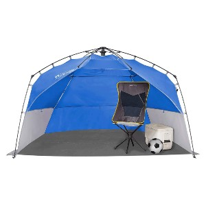 Lightspeed Outdoors Portable Easy Setup Extra Large Shelter - Best Beach Tents for Family: Tent with 3 XL Windows