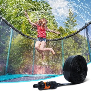 Ligttle Outdoor Trampoline Water Sprinkler  - Best Trampoline Sprinkler: Safe and fun