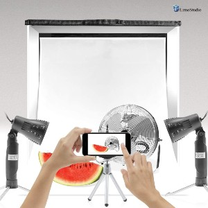Limo Studio Portable Photo Shooting Tent AGG349  - Best Small Photo Light Box: Best for natural and artificial light
