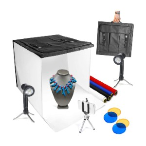 Limo Studio Photo Light Box Kit - Best Lightbox for Product Photography: Best for amateur