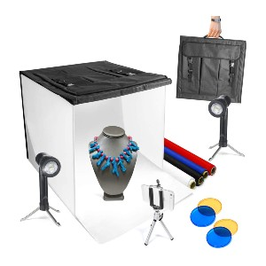 Limo Studio Photo Light Box Kit - Best Lightbox for Jewelry Photography: Best for first-timer