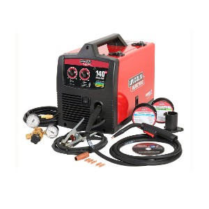 Lincoln Electric 140 Amp Weld - Best Welding Machines: Precision Full-Adjustment Drive System