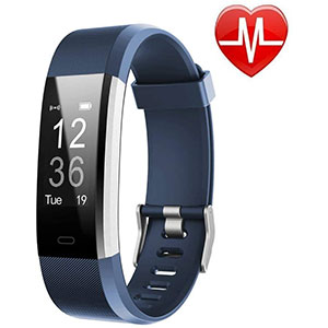 Lintelek Fitness Tracker with Heart Rate Monitor - Best Fitness Trackers: Monitor Your Daily Sleep Quality