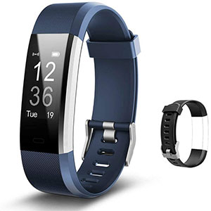 Lintelek  Fitness Tracker with Heart Rate Monitor - Best Fitness Trackers: 14 Sports Modes for Specific Activity