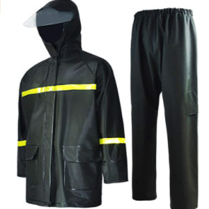 Lisaeon Waterproof Jacket and Pants Durable - Best Raincoat for Boating: Zipper and Velcro on The Jacket