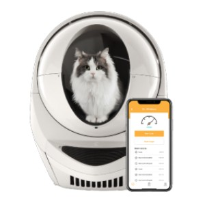 Litter-Robot Litter-Robot 3 Connect - Best Self Cleaning Litter Box for Multiple Cats: Great for Multiple Cats