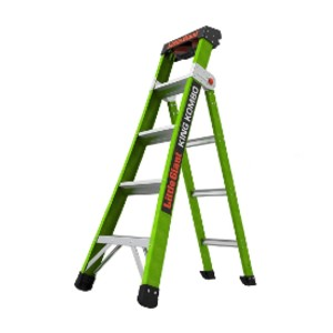 Little Giant 13580-001 - Best Extension Ladders for Home Use: Durable Traction Pad Grips