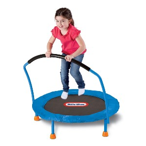 Little Tikes 3' Trampoline - Best Trampoline Backyard: Great energy burner