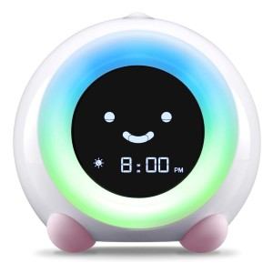 LittleHippo Mella Ready to Rise Children's Trainer - Best Alarm Clock for Bedroom: Durable and Safe Construction