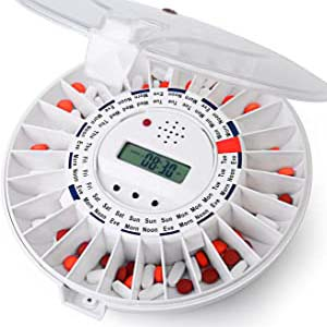 LiveFine Automatic Pill Dispenser - Best Pill Dispensers for Seniors: No more under or over dosage
