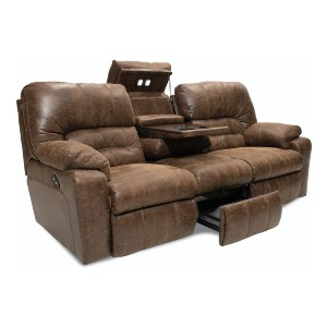 Franklin Duke  - Best Recliners Sofas: Features Storage and Dual Cupholders