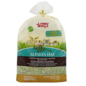 Living World Alfalfa Hay Small Animal Food - Best Hay for Baby Rabbit: For Young Rabbit