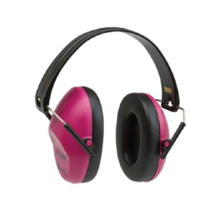 Allen  Lo-Profile Orchid  - Best Shooting Hearing Protection: Foam Padded Ear Cups