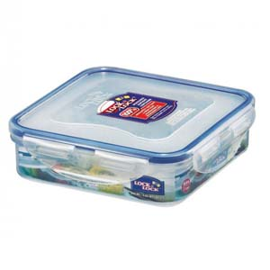 LOCK & LOCK Square Short Food Container - Best Food Storage Container: Handy and unbreakable