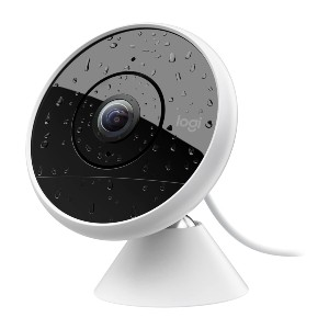 Logitech  Circle 2 Indoor/Outdoor Wired Home Security Camera  - Best Spy Camera on Amazon: Wide-Angle Lens Spy Camera